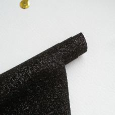 Термотрансферная пленка, Черная с  блестками