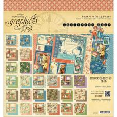Набор бумаги Graphic 45 Children's Hour 20*20