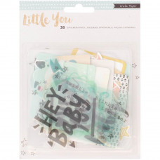Набор высечек   Little You Acrylic  Boy от Crate Paper