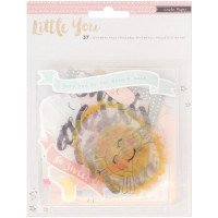 Набор высечек Little You Acrylic GIRL от Crate Paper