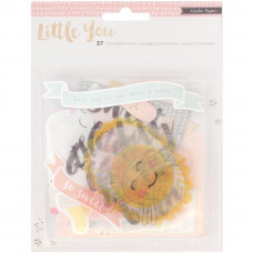 Набор высечек Little You Acrylic GIRL от Crate Paper