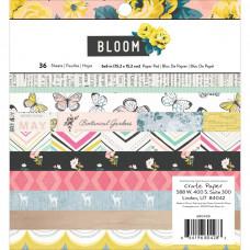 Набор бумаги Maggie Holmes Bloom, Crate Paper