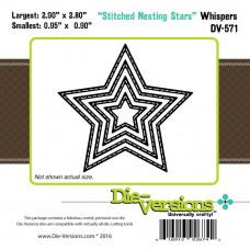 Набор ножей для вырубки Stitched Stars