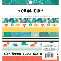Набор бумаги Cool Kid  от Crate Paper