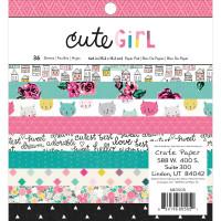 Набор бумаги Cute Girl от Crate Paper