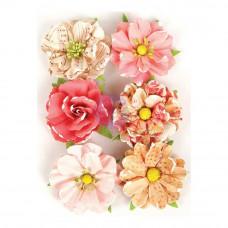 Набор цветов Love Clippings Flowers от Prima Marketing