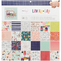Набор бумаги Dear Lizzy Lovely Day от American Crafts