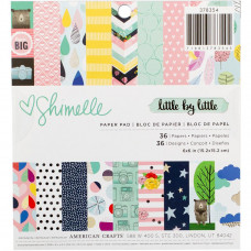 Набор бумаги Shimelle Little By Little American Crafts