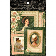 Набор карточек Portrait Of A Lady Journaling & Ephemera Cards