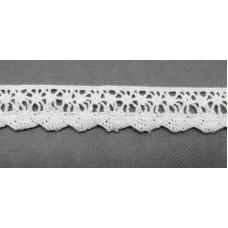 Кружевная лента «Рукоделие» 14мм цвет: белый