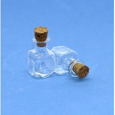 Стеклянные бутылочки с пробкой Рукоделие™ 2.0мл (14мм х 24мм)