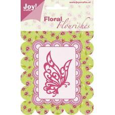 Нож для вырубки Floral Flourishes (Бабочка)
