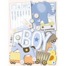 """Стикеры """"Itsy Bitsy Baby Boy"""""""