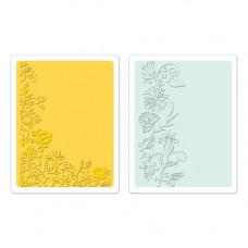 Форма для эмбоссирования Цветочная лоза Textured Impressions
