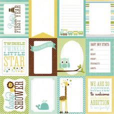 Бумага Boy Journaling Cards