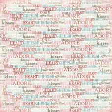 Бумага Words of Love