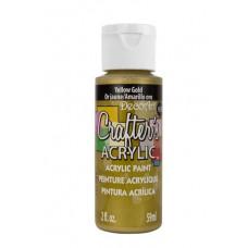 Акриловая краска Crafter's Желтое Золото