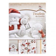 """Набор для создания открытки """"В Ожидании Рождества"""" TIMELESS  A5"""