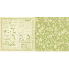 Бумага двусторонняя для скрапбукинга, Kewpie Cute