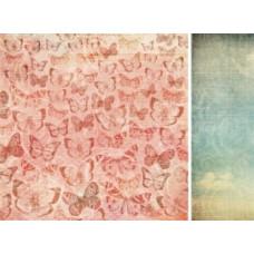 Бумага двусторонняя для скрапбукинга 30,5х30,5 см, WithLove, серия: Sweet Nothings