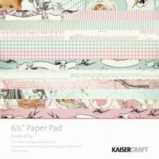 Набор бумаги для скрапбукинга Bundle of Joy, 15x15 см, 40 л.