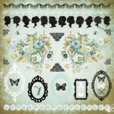 Набор бумажных самоклеющихся аппликаций серии 75 Cents Sticker