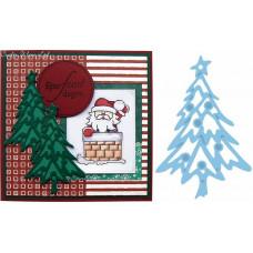 """Нож для вырубки """"Рождественская елка"""""""