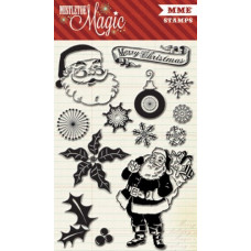 Прозрачные штампы 9 шт 10*15 см My Mind's Eye Mistletoe Magic MM1016