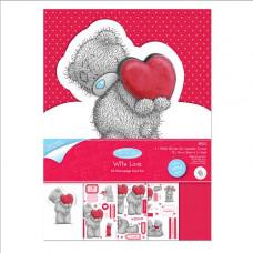"""Набор для создания открытки """"Я люблю тебя"""" Me To You"""