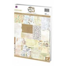 Набор бумаги для скрапбукинга серии LIFETIME размером 21х29 см, 48 л.