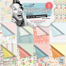 Набор бумаги для скрапбукинга Happy Days