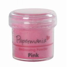 Пудра для тиснения розовый