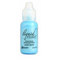 Контур перламутровый Liquid Pearls, детский голубой