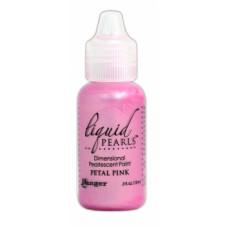 Контур перламутровый Liquid Pearls, розовые лепестки