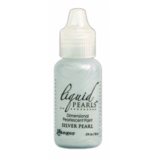 Контур перламутровый Liquid Pearls, перламутровый себеристый