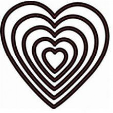 Форма для вырубки Сердечки
