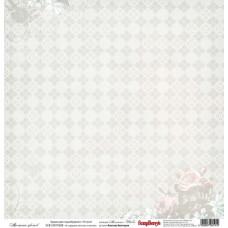 Бумага для скрапбукинга односторонняя Ароматы цветов