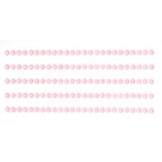 Полужемчужинки клеевые розовые