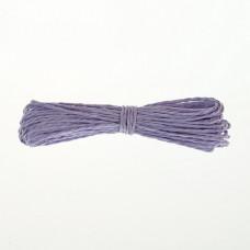 Шнур бумажный крученый, светло-фиолетовый, 5м