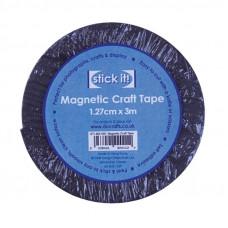 Магнитная лента, STICK IT,  1,27x3