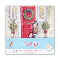 """Набор для создания открытки """"Подарок на Рождество"""""""