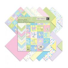 "Набор бумаги ""Designer Paper Pad-Snuggle Bug"", 36 листов"