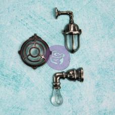 Металлические украшения Настенные Лампы 3 шт