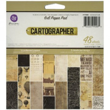 Набор бумаги для скрапбукинга 15*15 Cartographer