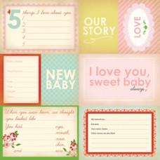 Бумага 30*30 см Our Story