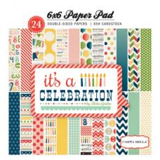 Набор бумаги для скрапбукинга 15*15 It's a Celebration