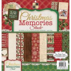 Набор бумаги для скрапбукинга 30*30 Christmas Memories