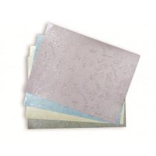 Эмбоссированная бумага БАБОЧКИ 15*20, 4 цвета