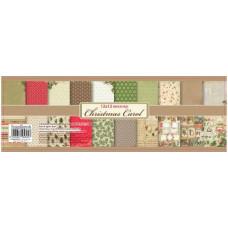 Набор бумаги для скрапбукинга 30,5х30,5 Ночь перед Рождеством