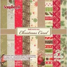 Набор бумаги для скрапбукинга 15х15 Ночь перед Рождеством